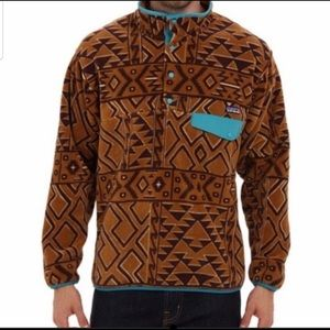 Patagonia Synchilla Snap T Aztec Fleece Pu…